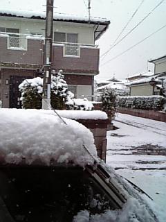 雪だあああ